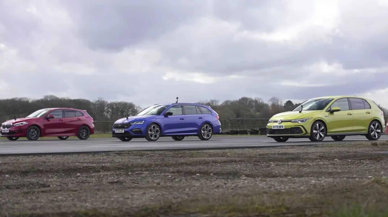 El Volkswagen Golf GTD se enfrentar a sus rivales