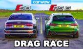 Audi RS 6 Avant vs. Audi S8