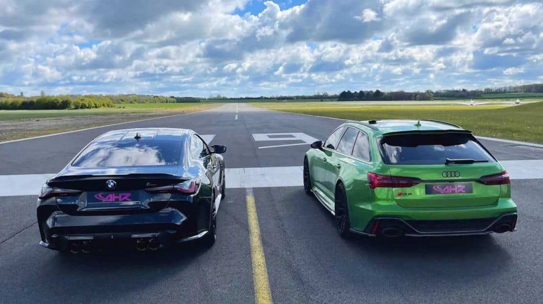 BMW M4 Competition vs. Audi RS 6 Avant