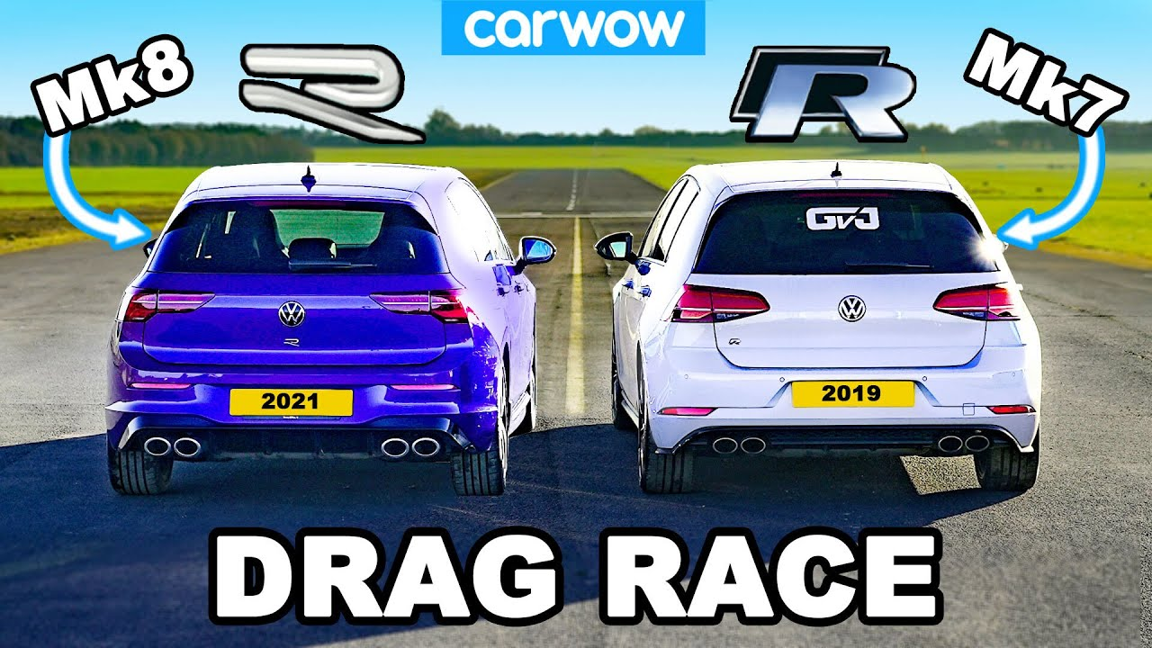 Carrera de Volkswagen Golf R
