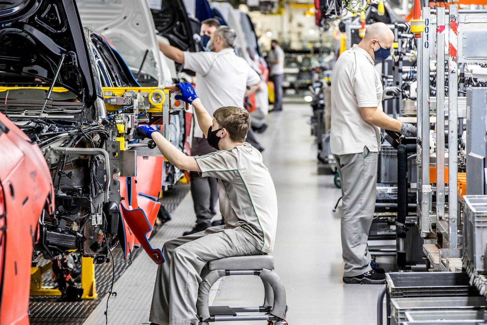 Fábrica de Bentley en la actualidad