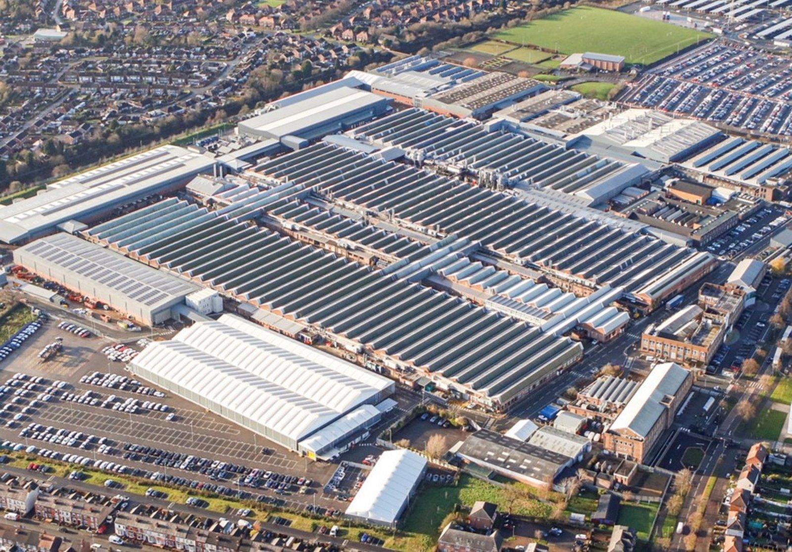 Fábrica de Bentley en Crewe