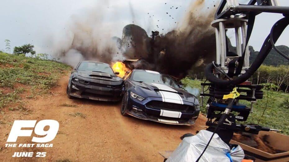 Nuevo avance de 'Fast & Furious 9': así se rodaron algunas de las escenas más impresionantes