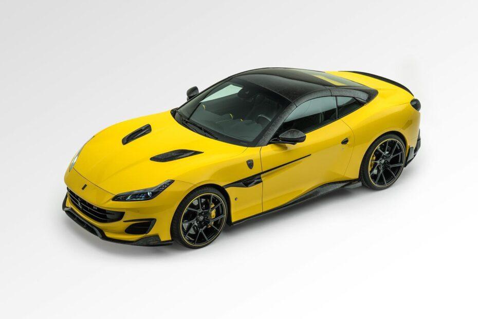 El Ferrari Portofino M recibe una dieta rica en fibra de carbono forjado cortesía de Mansory