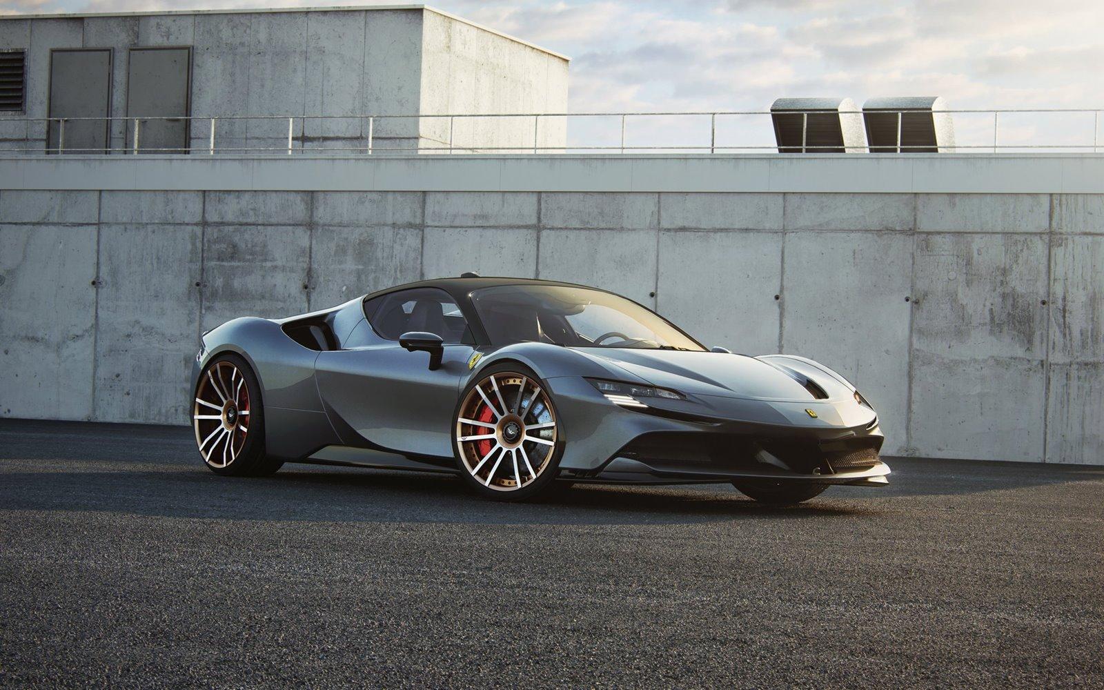 Hasta 1.118 CV para el Ferrari SF90 de Wheelsandmore