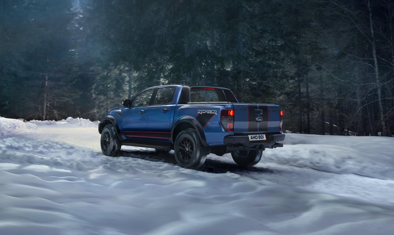 El Ford Ranger Raptor Special Edition 2021 es más atrevido visualmente