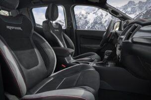 Novedades en el interior del Ford Ranger Raptor Special Edition 2021
