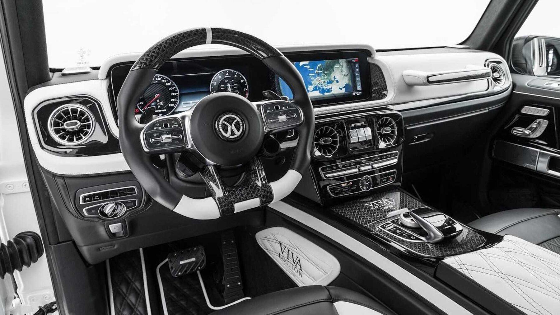Interior Mansory AMG G63 Viva Edition