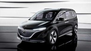 Mercedes-Benz Concept EQT: el anticipo del MPV eléctrico de la estrella