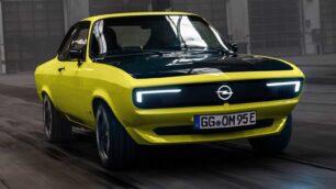 Opel Manta GSe ElektroMOD: diseño retro y electrificación unidos de la mano