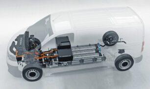 Sistema Opel Vivaro-e de pila de combustible