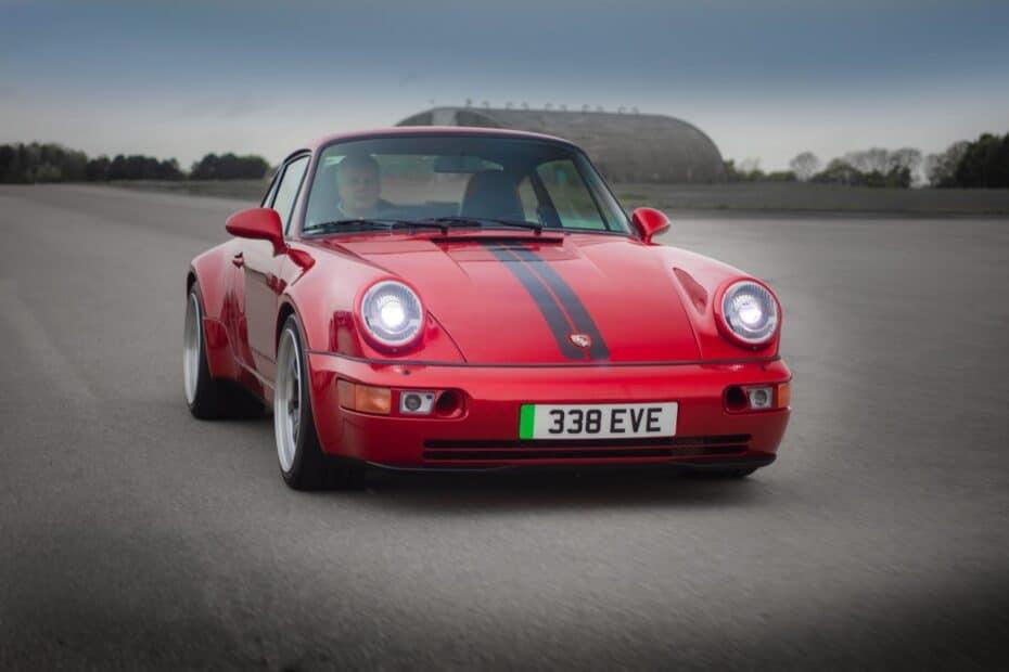 ¿Qué te parece este Porsche 911 eléctrico?