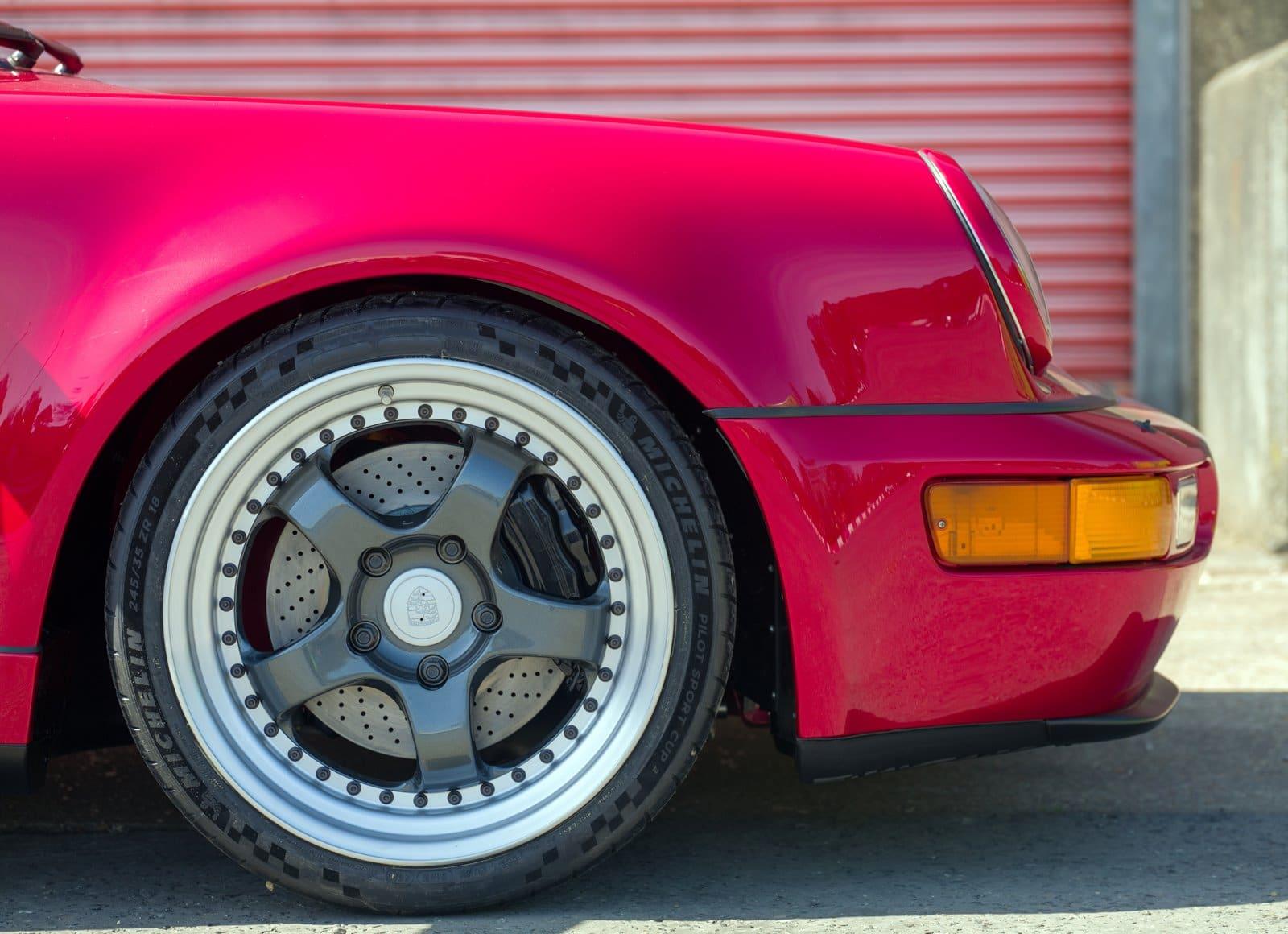 Porsche 911 eléctrico llantas
