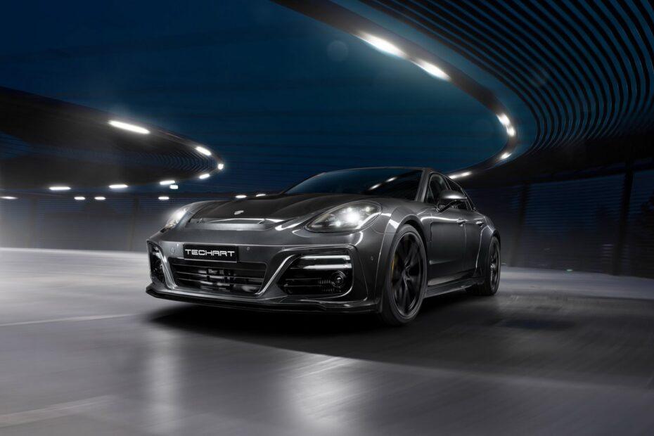 El Porsche Panamera Sport Turismo ahora con hasta 720 CV y mucha fibra de carbono