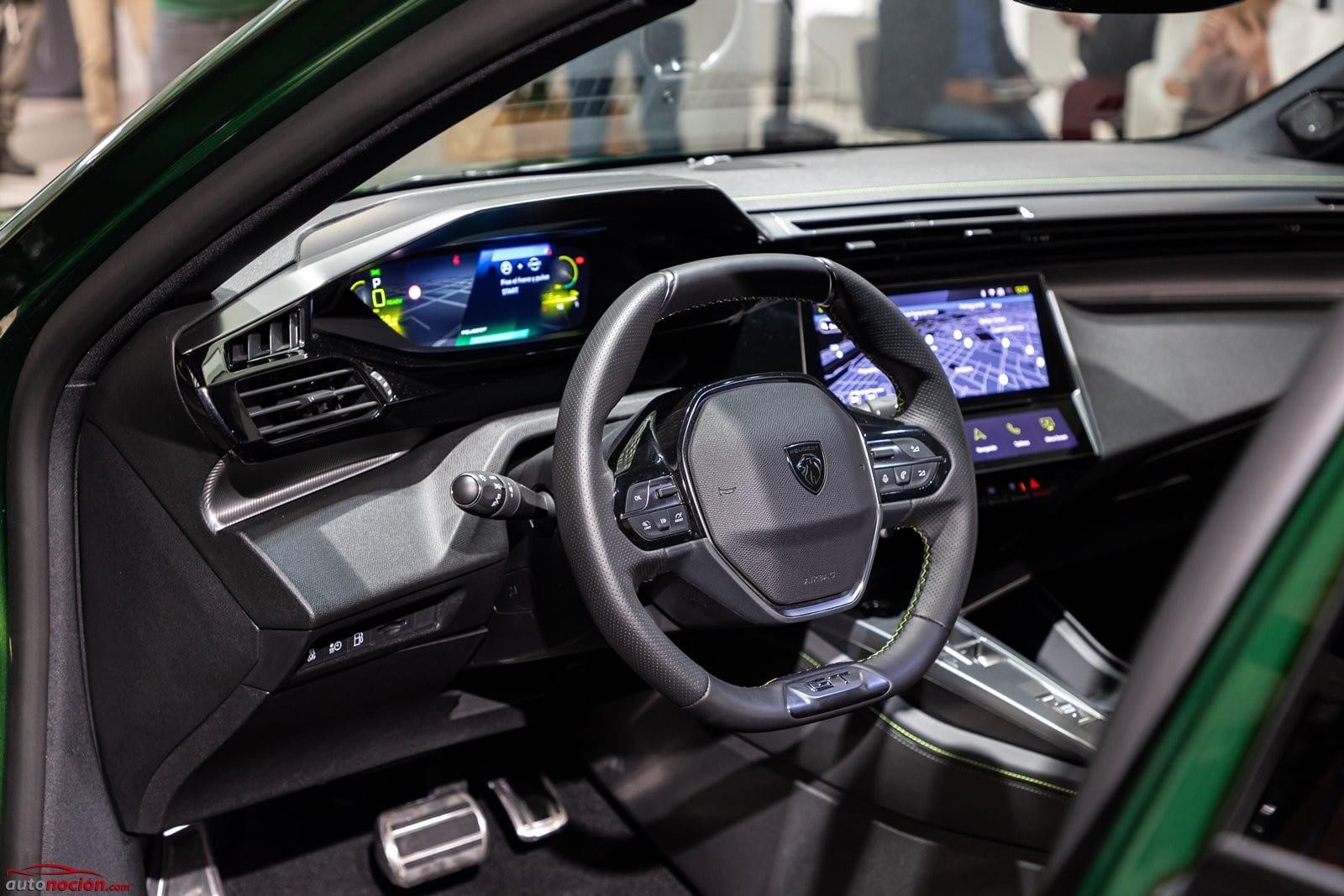 Interior Peugeot 308 2021
