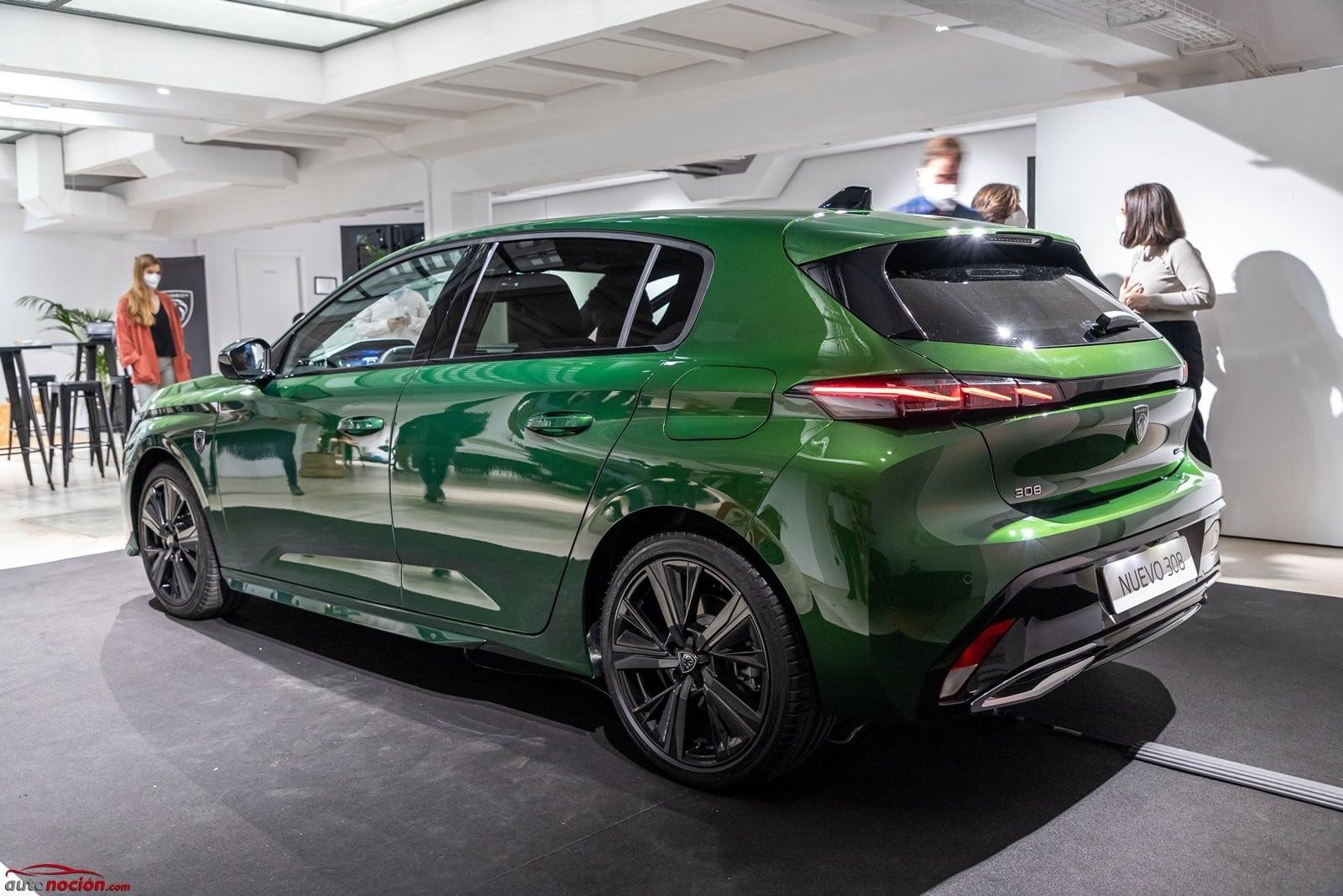 El Peugeot 308 2021 es realmente atractivo