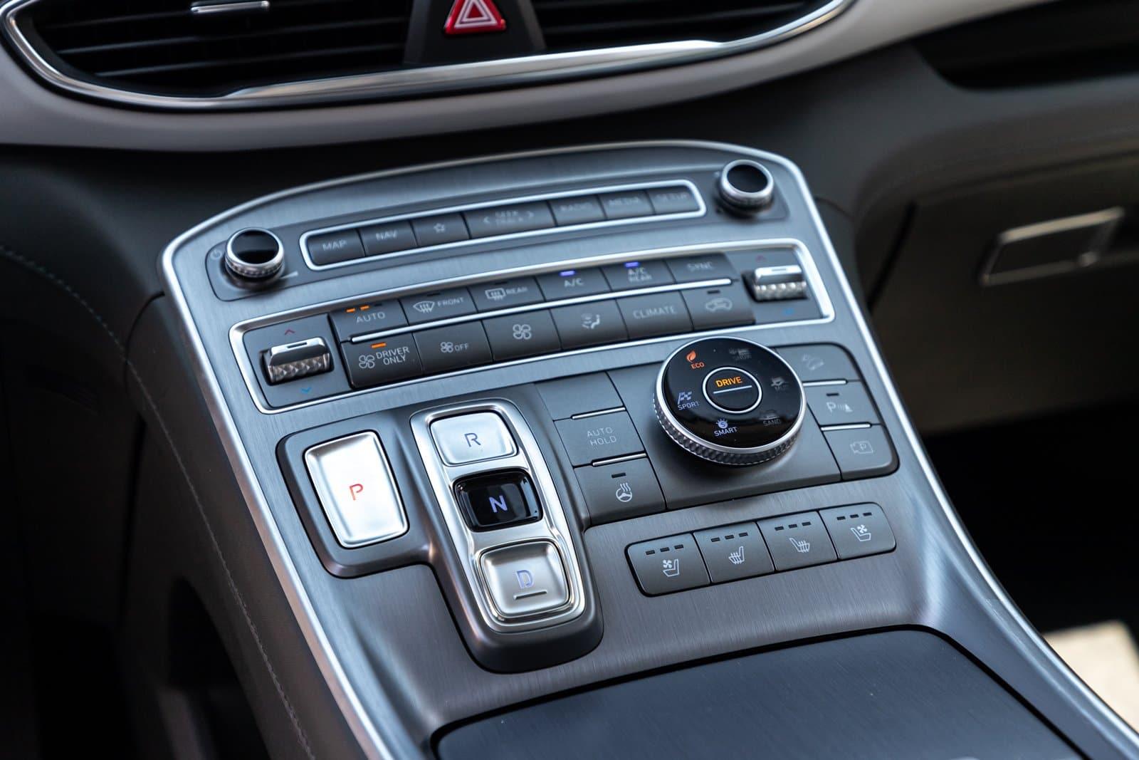 Consola central Hyundai Santa Fe