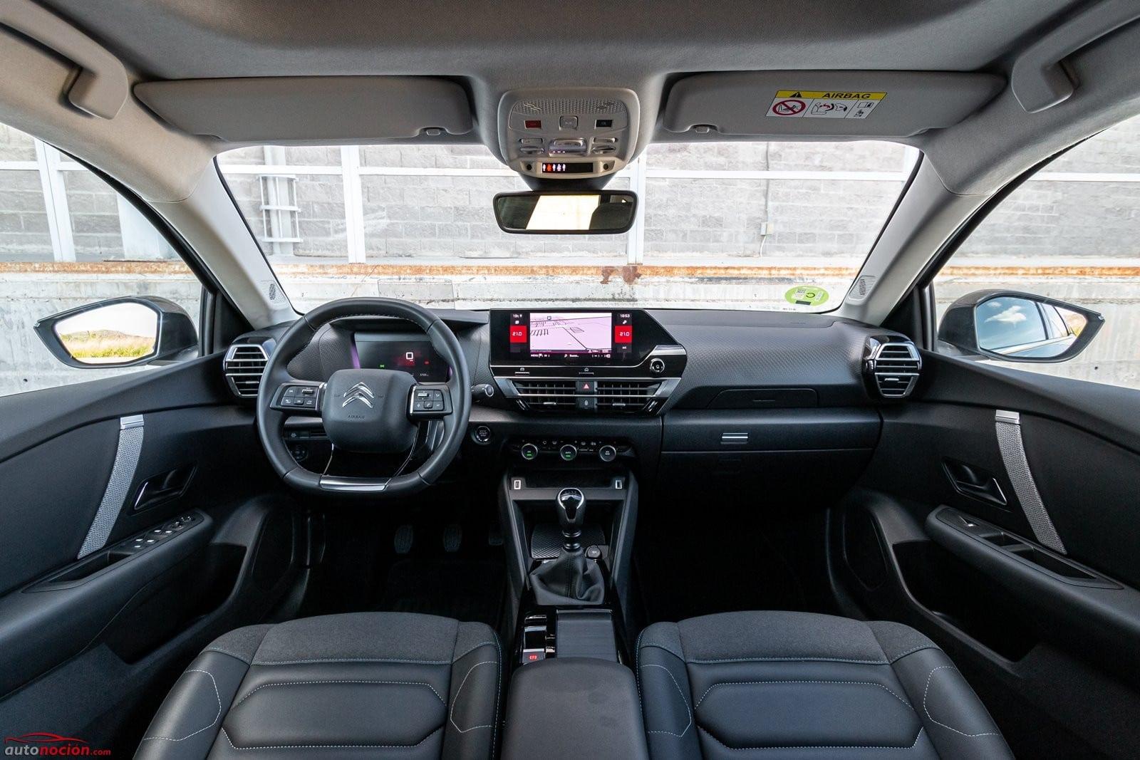 Interior Citroën C4