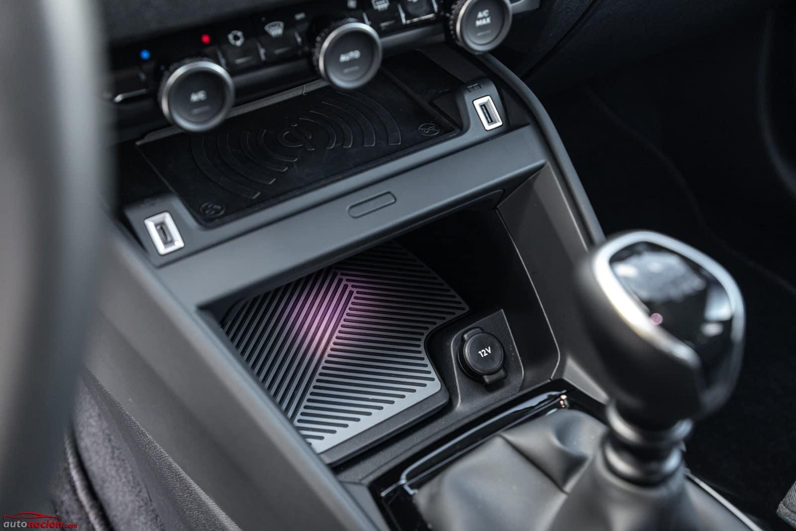 Consola central Citroën C4