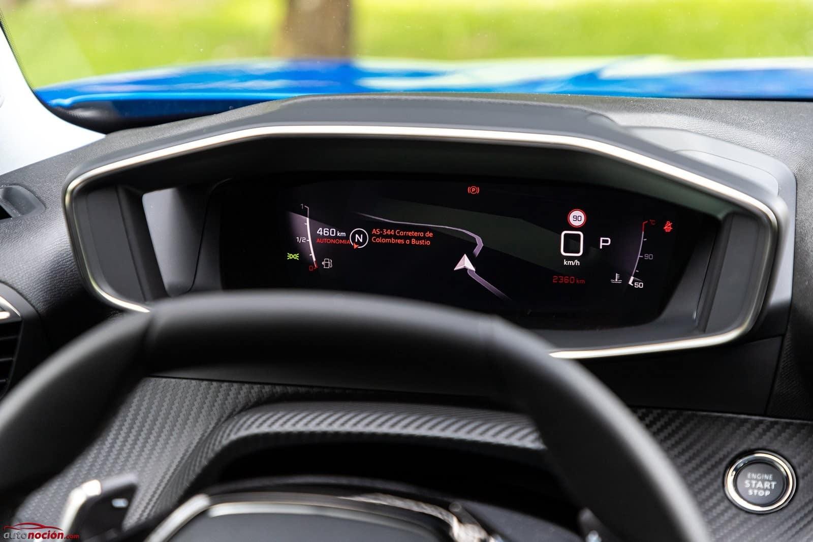 Cuadro digital Peugeot 2008