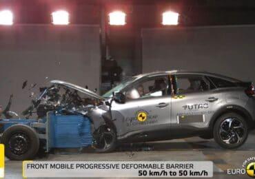Citroën C4 pruebas Euro NCAP mayo 2021