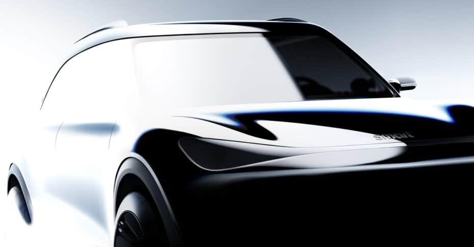 Primeras imágenes y detalles del futuro SUV de smart: debuta este año