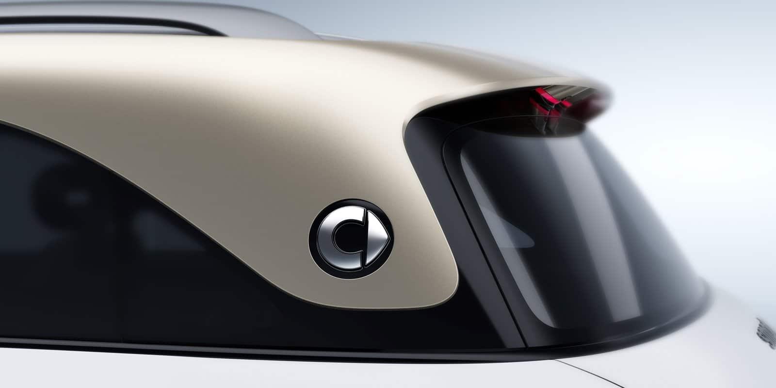 El SUV de smart será reconocible desde el primer vistazo