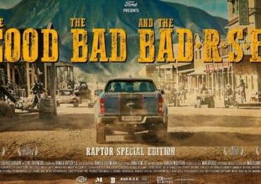 Teaser Ford Ranger Raptor Special Edition