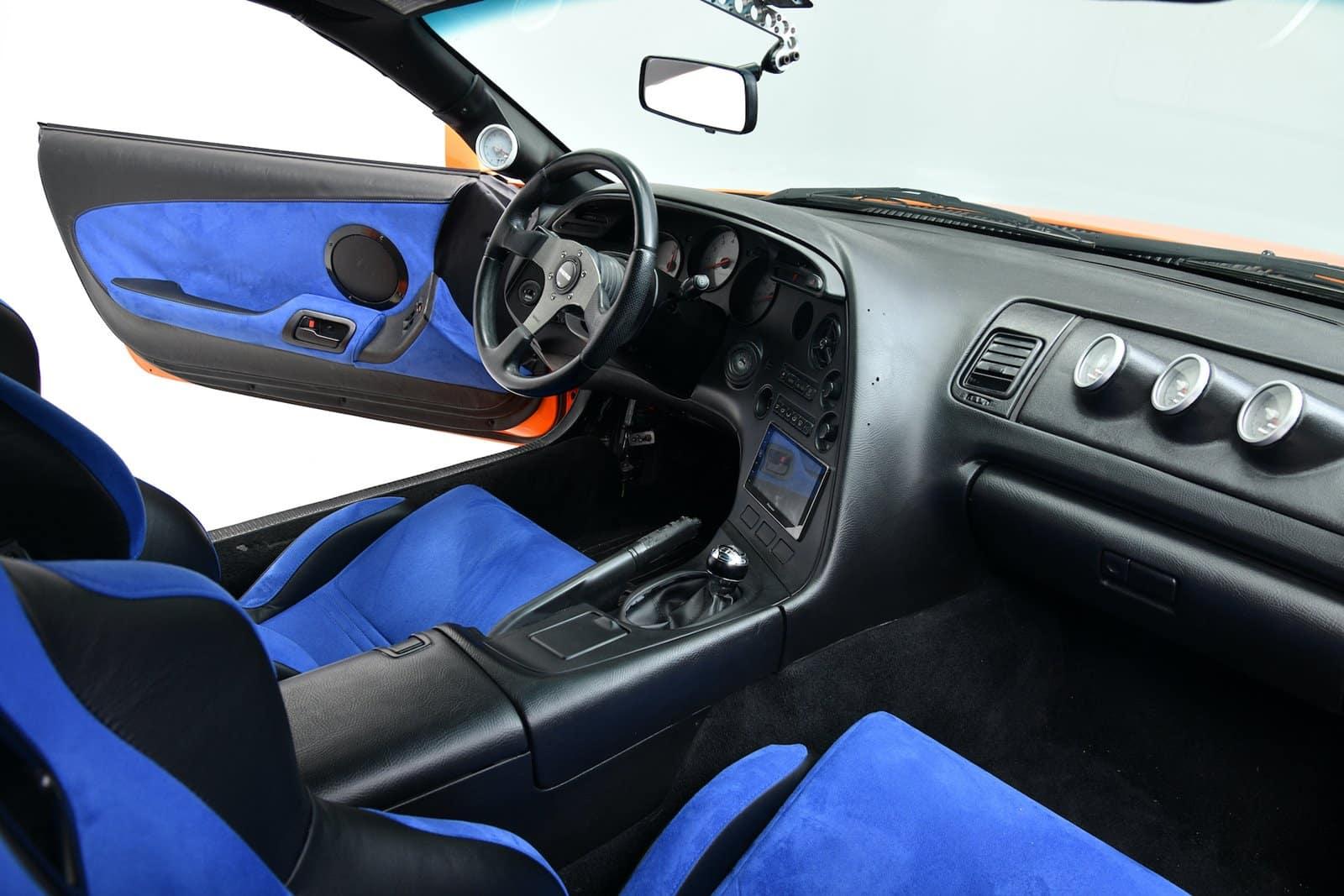 Esta unidad del Toyota Supra de 'Fast & Furious' es de 1994