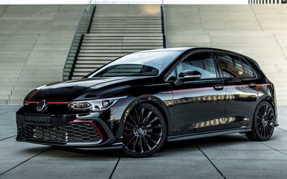 El poderoso y siniestro Volkswagen Golf GTI de Manhart no te dejará indiferente