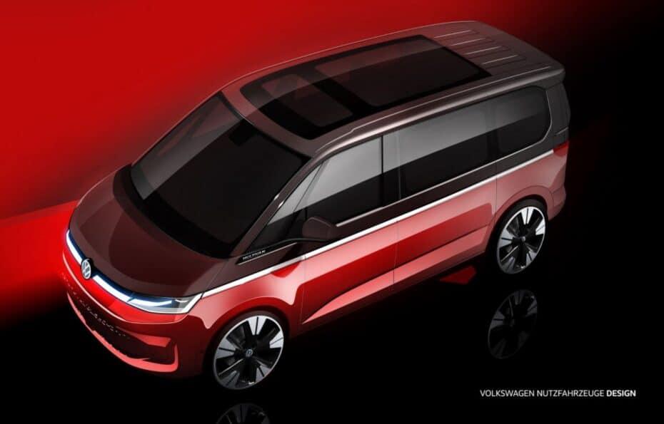 Así será el Volkswagen T7 Multivan, ¿Qué te parece?