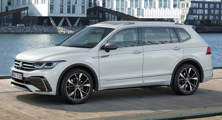 ¡Oficial! Volkswagen Tiguan Allspace 2021: La receta del éxito también en formato 7 plazas