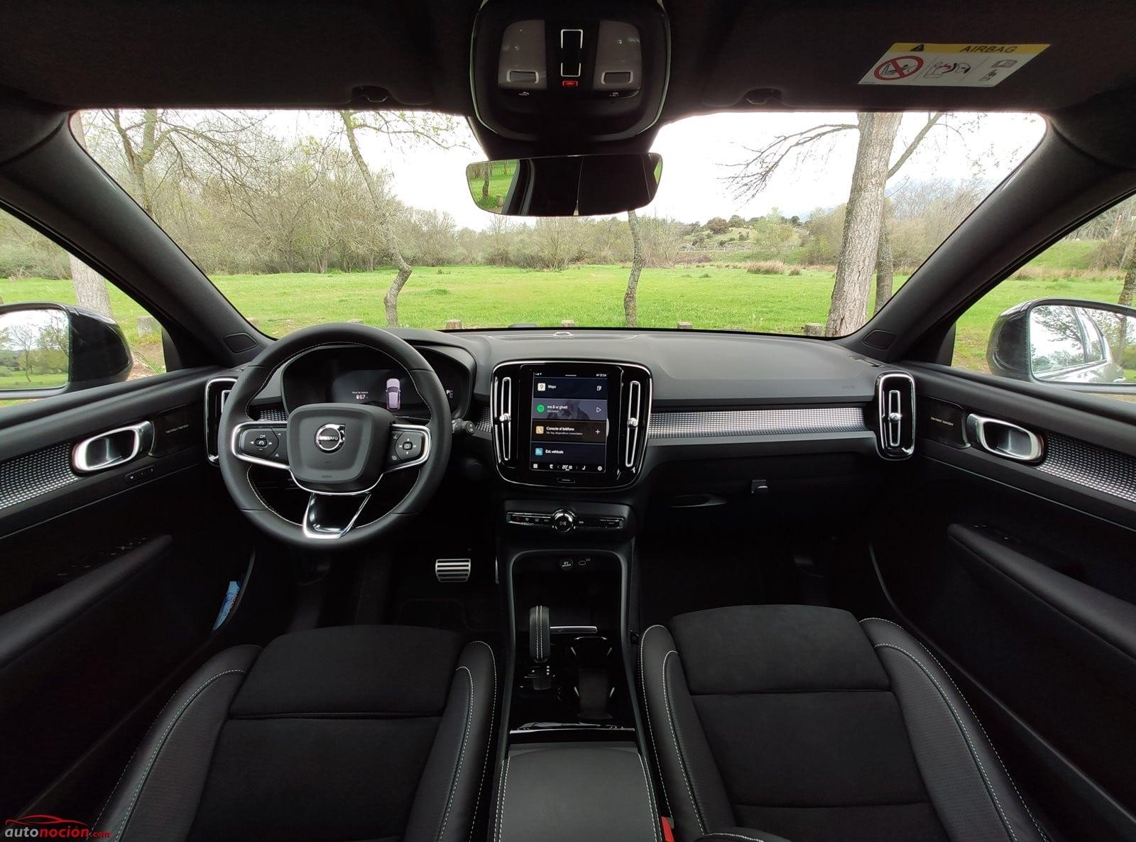 Interior Volvo XC40 Recharge