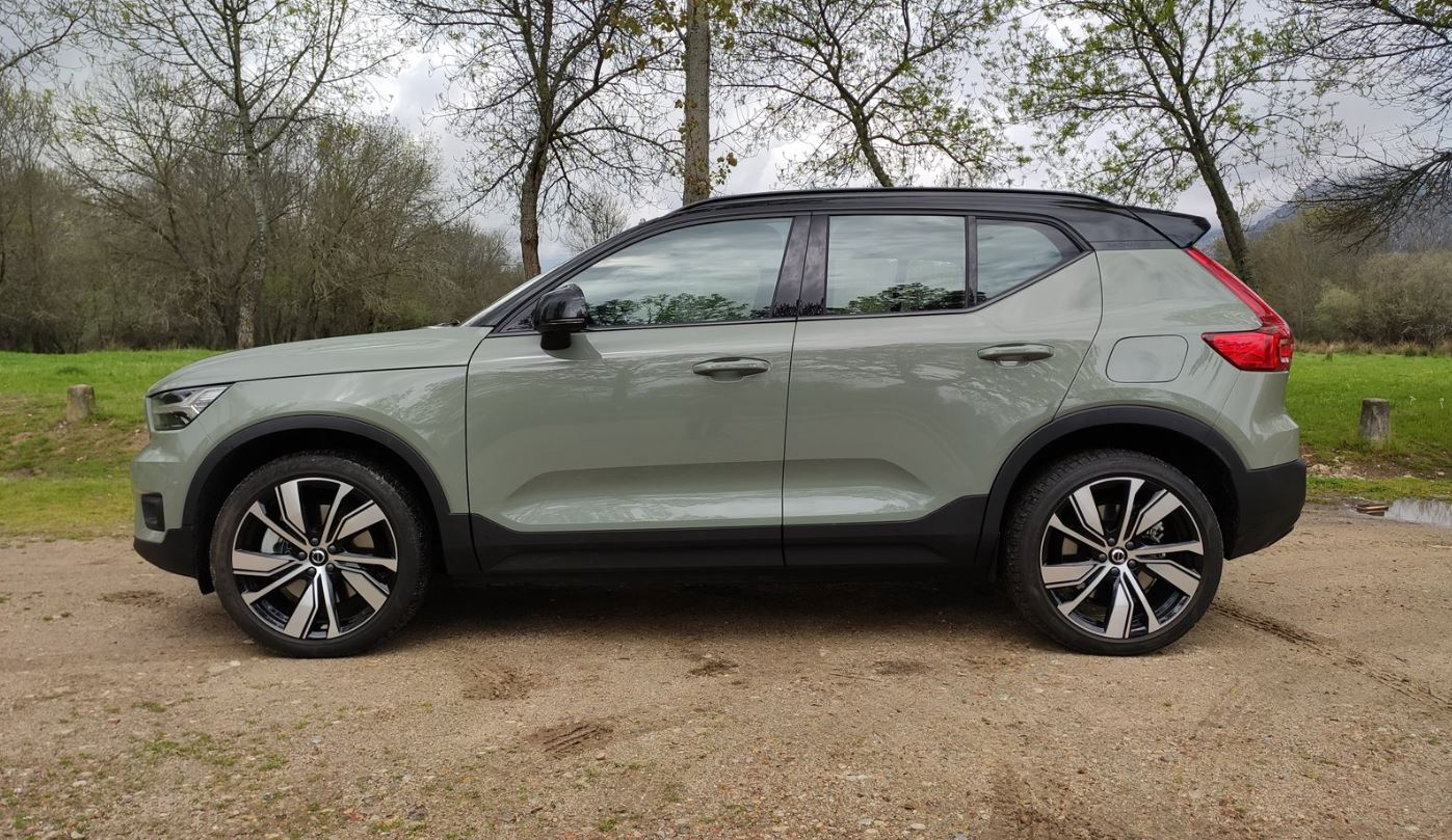 Lateral Volvo XC40 Recharge