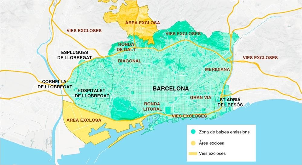 ¿Qué coches pueden entrar en Barcelona?