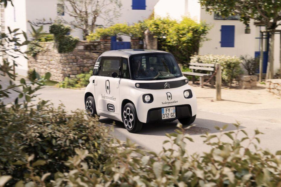 Nuevo My Ami Cargo, el comercial eléctrico más exótico
