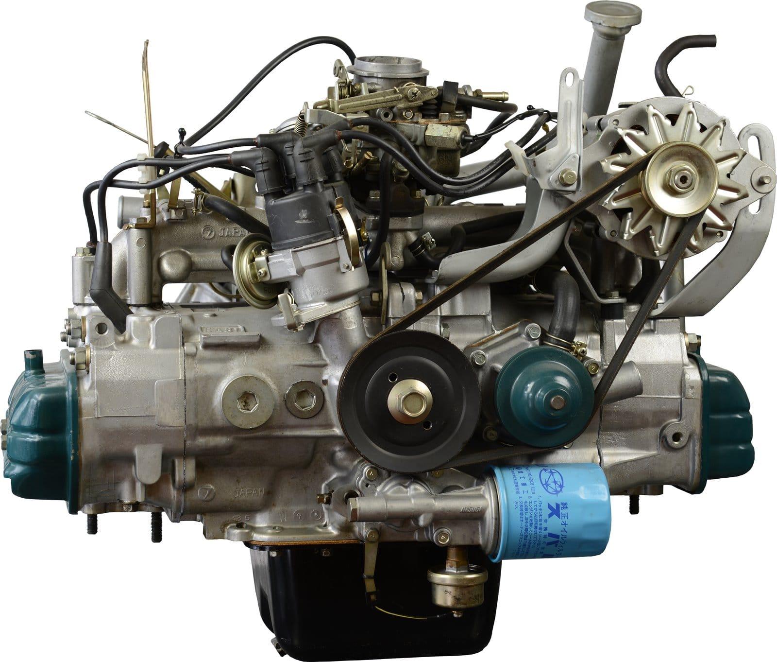 motor bóxer de subaru