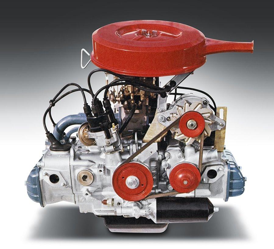 El motor Bóxer de Subaru cumple 55 años