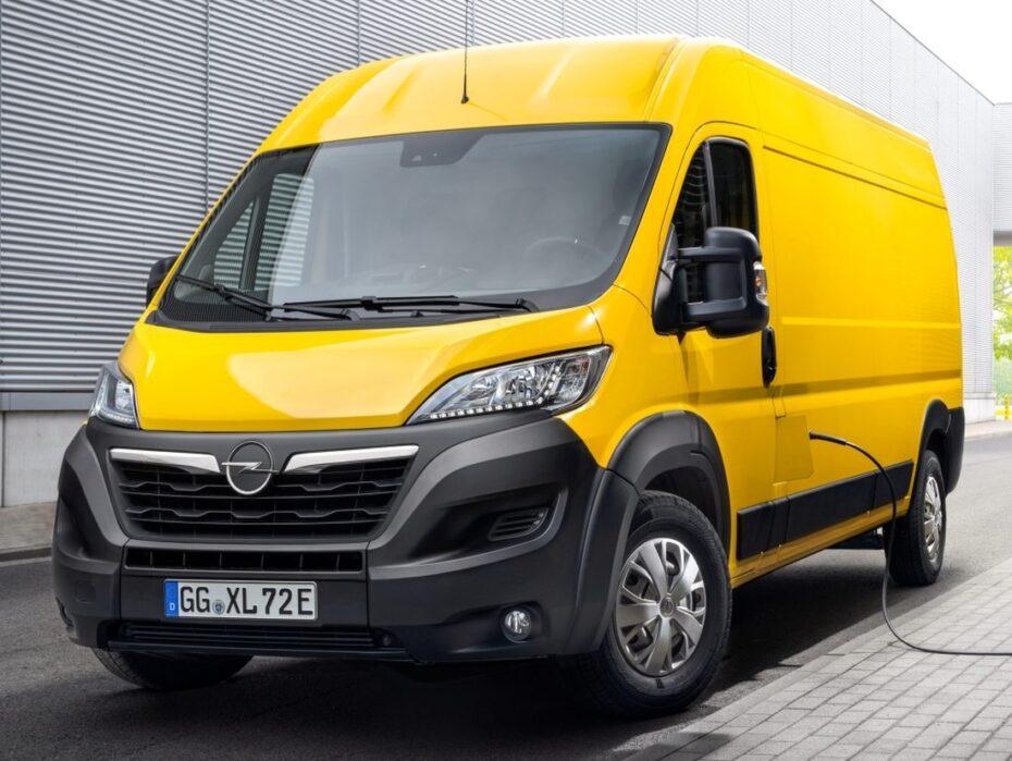 Nuevo Opel Movano, ahora también con motor eléctrico