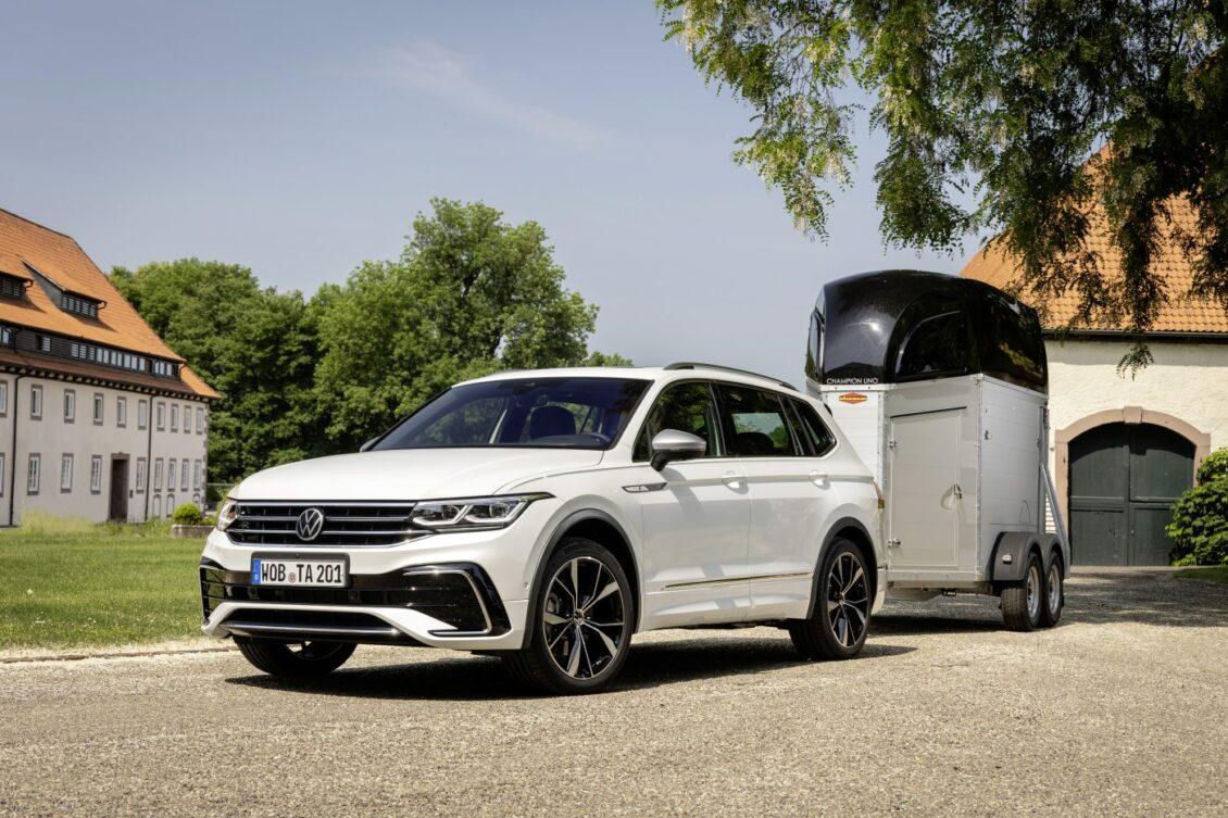 El Volkswagen Tiguan Allspace 2021, ahora más en detalle