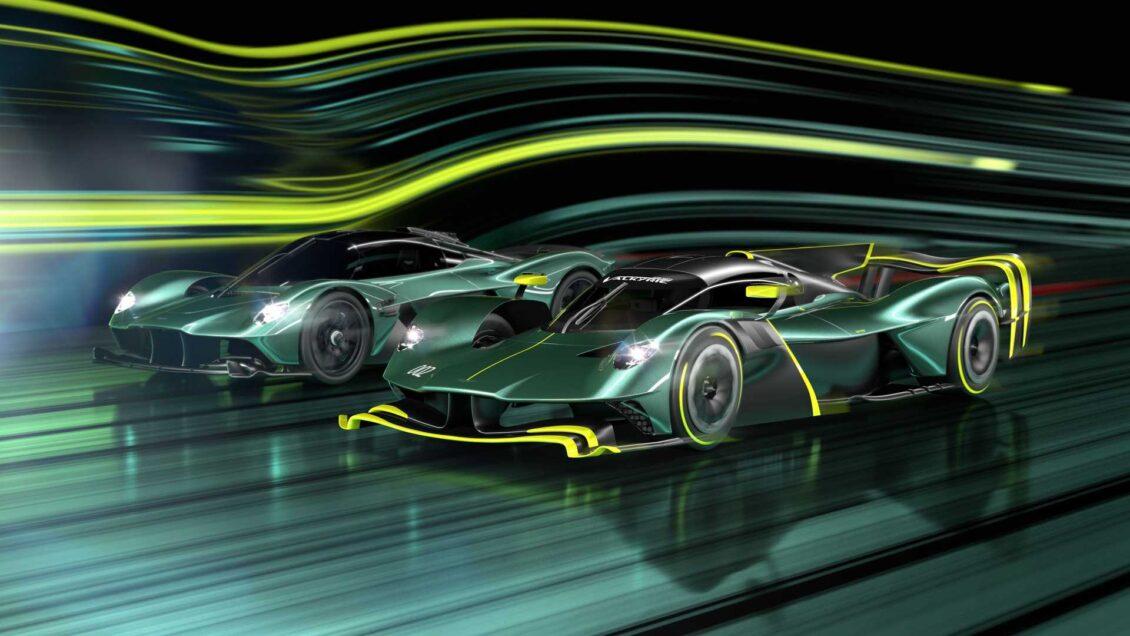 Así es el Aston Martin Valkyrie AMR Pro de producción: 1.100 CV y más carga aerodinámica