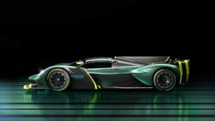 La versión de producción del Aston Martin Valkyrie AMR Pro tiene una sorprendente aerodinámica