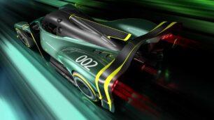 El Aston Martin Valkyrie AMR Pro eroga 1.100 CV