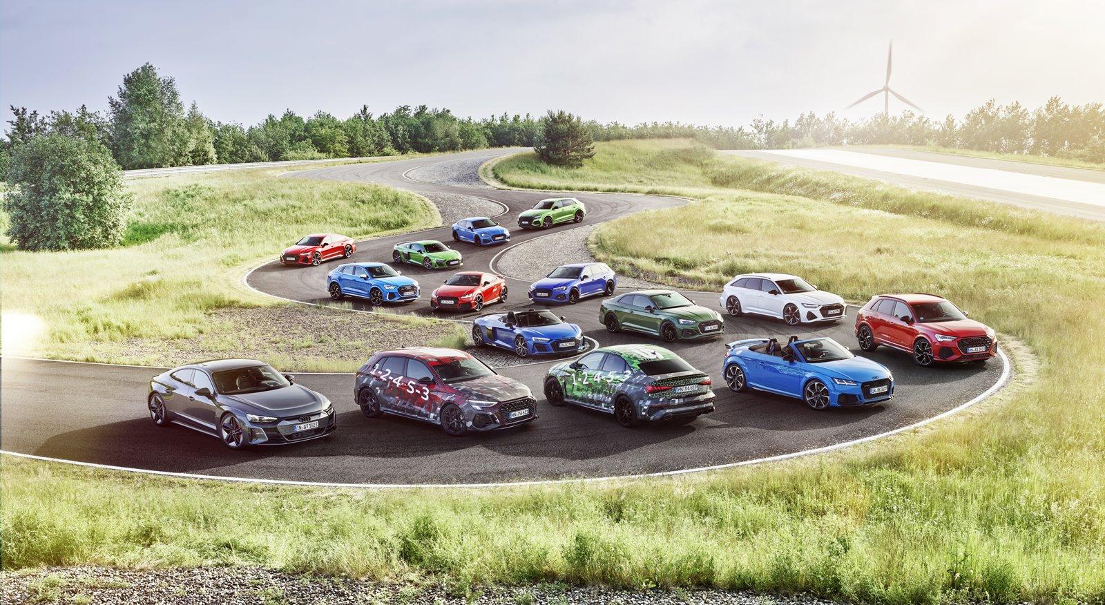 Los Audi RS 3 Sportback y Sedán debutarán el próximo viernes 18 de junio