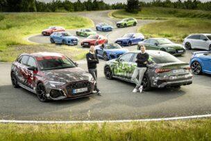 Primeras imágenes oficiales de los Audi RS 3 Sportback y Sedán: ya hay fecha para el debut
