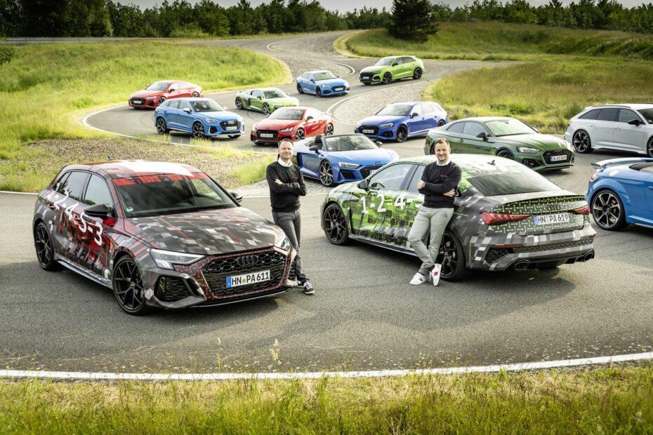Audi RS 3 Sportback y Sedán