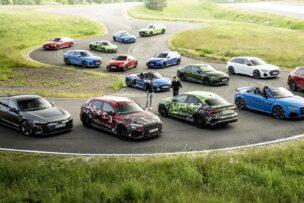 Más potencia y nuevo quattro para los Audi RS 3 Sportback y Sedán