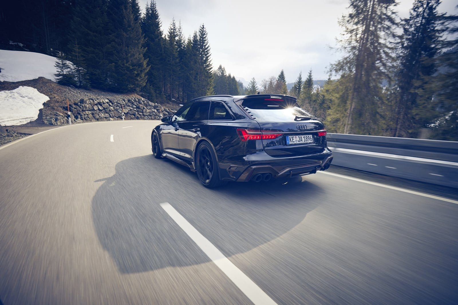 Audi RS6 de ABT trasera