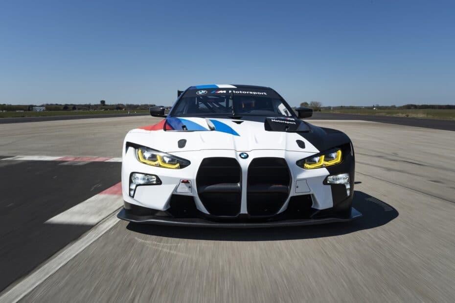 Así es el BMW M4 GT3 y si compites, no lo querrás ver en el retrovisor