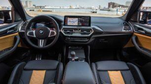 Novedades en el interior de los BMW X3 M y X4 M Competition